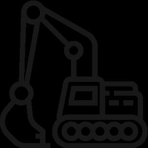 Transporte de excavadoras